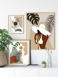 tableau imprimé de la collection Artwall and Co