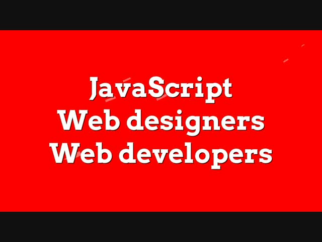 Learn to Code JavaScript web designers and developers quick