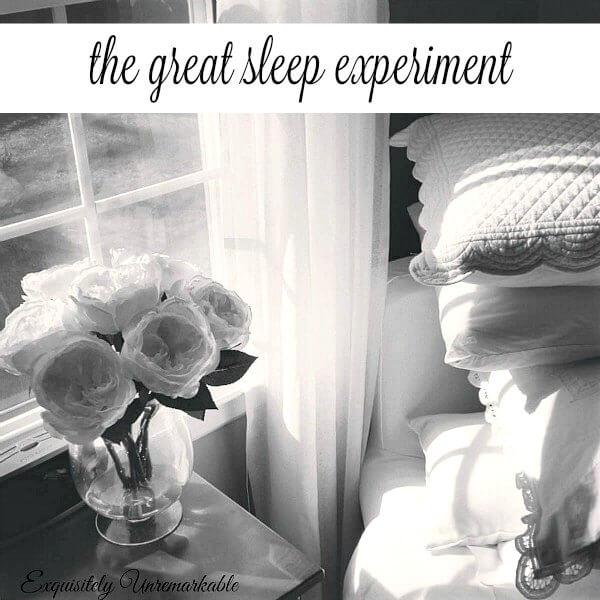 The Great Sleep Experiment