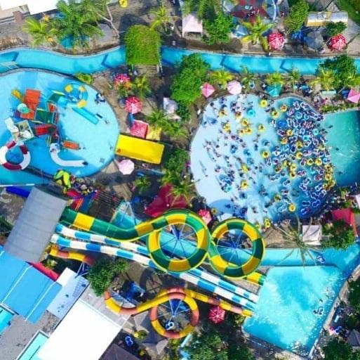 Lokasi Saygon Waterpark