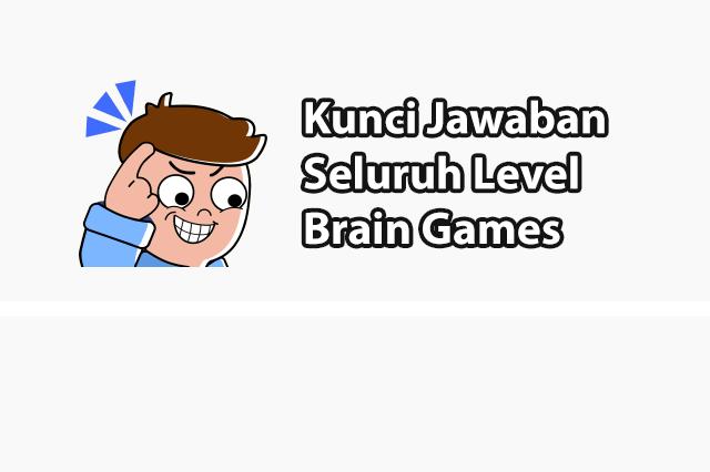 Kunci Jawaban Brain Games IQ Challenge (299 Level++)