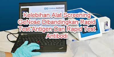 Kelebihan Alat Screening GeNose Dibandingkan Rapid Test Antigen Dan Rapid Test Antibodi