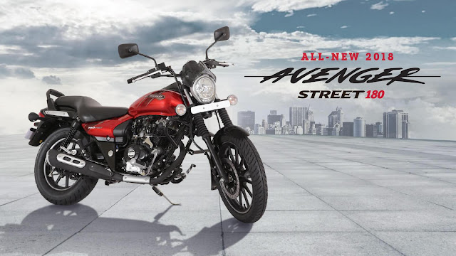 All New 2018 Bajaj Avenger Street 180 HD Image