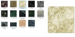 koleksi Texture material marmer