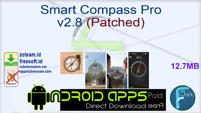 Smart Compass Pro v2.8 (Patched)