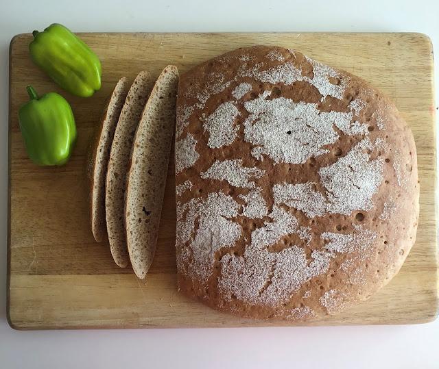 Rye bread, pan de centeno