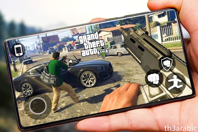 نقوم بتنزيل لعبة GTA 5 للأندرويد ، لعبة Mediafire gta 5 ، تحميل سريع جدًا ، والمعروفة باسم لعبة Grand Theft Auto V ، وهي واحدة من أجمل ألعاب gta على الإطلاق ، وهي متوفرة لدينا اليوم. للتحميل برابط مباشر apk مجانًا.  سنتحدث اليوم عن إحدى الألعاب الممتعة التي تدعم المتعة والتسلية ، وتعتبر اللعبة من أفضل ألعاب المغامرات.  حيث أنها تضم مجموعة من المراحل الممتعة ، وخلال اللعبة ستختبر أجواء من الفضول لإكمال اللعبة لمعرفة محتواها الكامل من خلال مراحلها المختلفة ، من خلال اللعبة يمكنك العيش في عالم واقعي يتواجد فيه الأشخاص والمركبات. بالإضافة إلى المطاردة التي تجري بين اللاعب والشرطة.  ملخص موجز للعبة GTA 5 v للأندرويد: تدور قصة اللعبة ، التي أنتجتها شركة Rockstar Games العملاقة ، حول ثلاثة مجرمين هم فرانكلين ومايكل وتريفور ، وفي البداية يسرق مايكل البنوك ، بينما يقوم فرانكلين بالسطو على الشوارع ، وبالنسبة لتريفور ، يقوم بسرقة البنوك. كل الممنوعات ومجموعة من المجرمين. تجتمع مجموعة من المجرمين وتشكل عصابة ، ويتحمل الرئيس المسؤولية ويدير أعمالهم ويساعدهم في جرائمهم. جمعهم القدر معًا للعمل معًا واختفوا من الشرطة إلى الأبد.  أثناء هروبهم ، يستمتعون بالعديد من المناظر الطبيعية الجذابة ، حيث تمتلئ الأنهار والجبال والغابات والشوارع بالمارة. من خلال اللعبة ، يمكنك تسلق الجبال ، والغوص في البحار ، ومشاهدة الشعاب المرجانية والأسماك ، والاستمتاع بالسير في الشوارع المليئة بالسيارات ثلاثية الأبعاد والمشاة وهم يتجولون في حياتهم اليومية والاستمتاع بالعديد من المغامرات الشيقة في نيويورك التي تعد متاهة للاعبين ومتى تلعب سوف تكتشف هذا السؤال.  تاريخ GTA 5 ضد Grand Theft Auto V: في البداية يجب أن تعلم أن اللعبة غير مناسبة تمامًا للأطفال ، لأن أحداثها تتم على يد مجموعة من المجرمين الذين يرتكبون العديد من الأعمال الإجرامية الخطيرة مثل تهريب المخدرات والسرقة المصرفية وعدم الامتثال لقوانين الدولة ، لذلك أن لها تأثيراً سلبياً على أخلاق الأطفال والمبادئ التي نقوم بها بتربيتهم عليها.  أما بالنسبة للبالغين ، فيمكنهم الاستمتاع باللعبة في أي وقت وفي أي مكان حيث يمكنهم معرفة الفرق بين أسلوب اللعب والحياة الحقيقية ، فهذه اللعبة هي لعبة ولا يقصد منها تعليم اللاعبين مبادئ خاطئة مثل السرقة والهروب من الشرطة