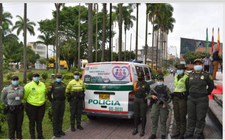 106 mujeres en Risaralda recibieron atención oportuna de la Patrulla Violeta