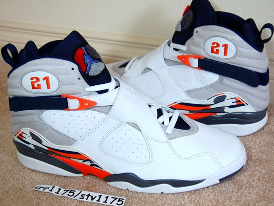 watch d3ecd 93259 One of the rarest Air Jordan VIII Retro PE s out there. Darius Miles wore  these during the 2002-03 NBA season during his time with the Cleveland  Cavaliers.