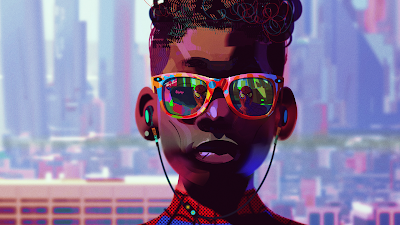 Miles Morales SpiderMan Into the SpiderVerse Art