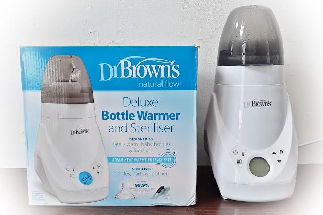 Dr Browns Sterilizer and Warmer Untuk Kemudahan Pemberian ASI