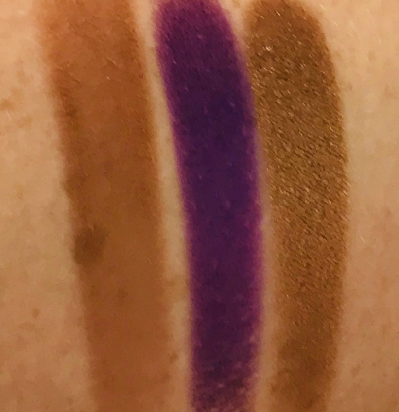 Pat McGrath single eyeshadow review & swatches, Sextrology, Purple Reign, Statuesque