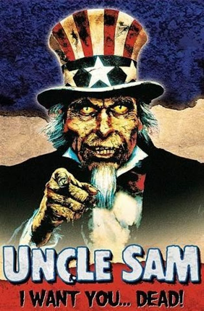Uncle Sam 1996 horror movie poster