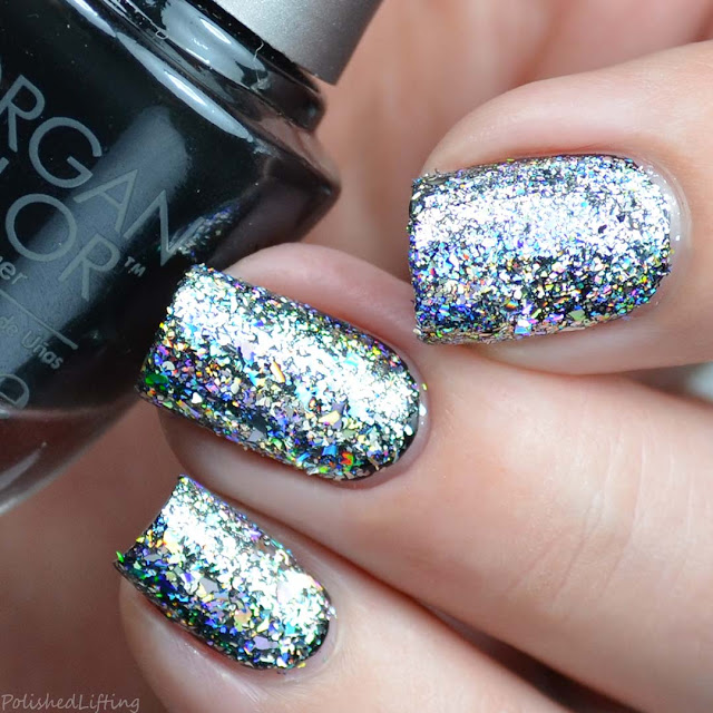 holographic nail art flakies