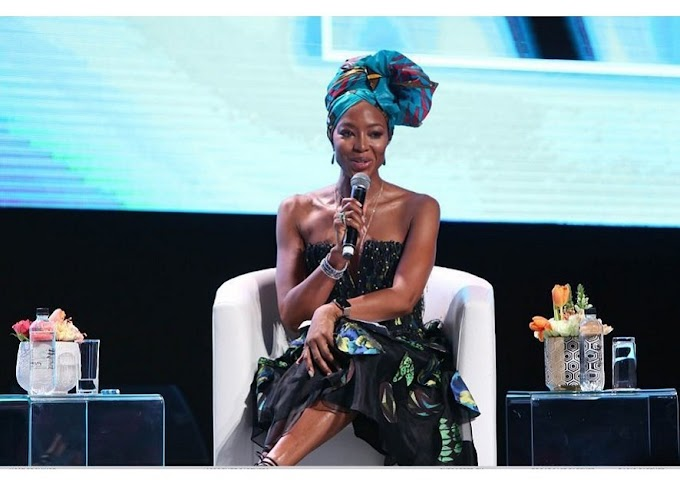Naomi Campbell shows love to Africa by giving back