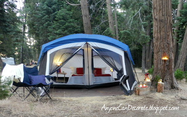 Anyone can decorate a glamping we will go glamping for Glamping ideas diy