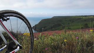 Paysage à bicyclette