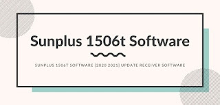 Sunplus 1506t Software