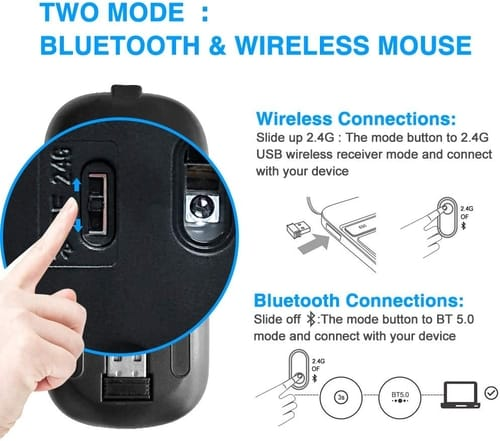 Review MMK Rechargeable Bluetooth Wireless Mouse