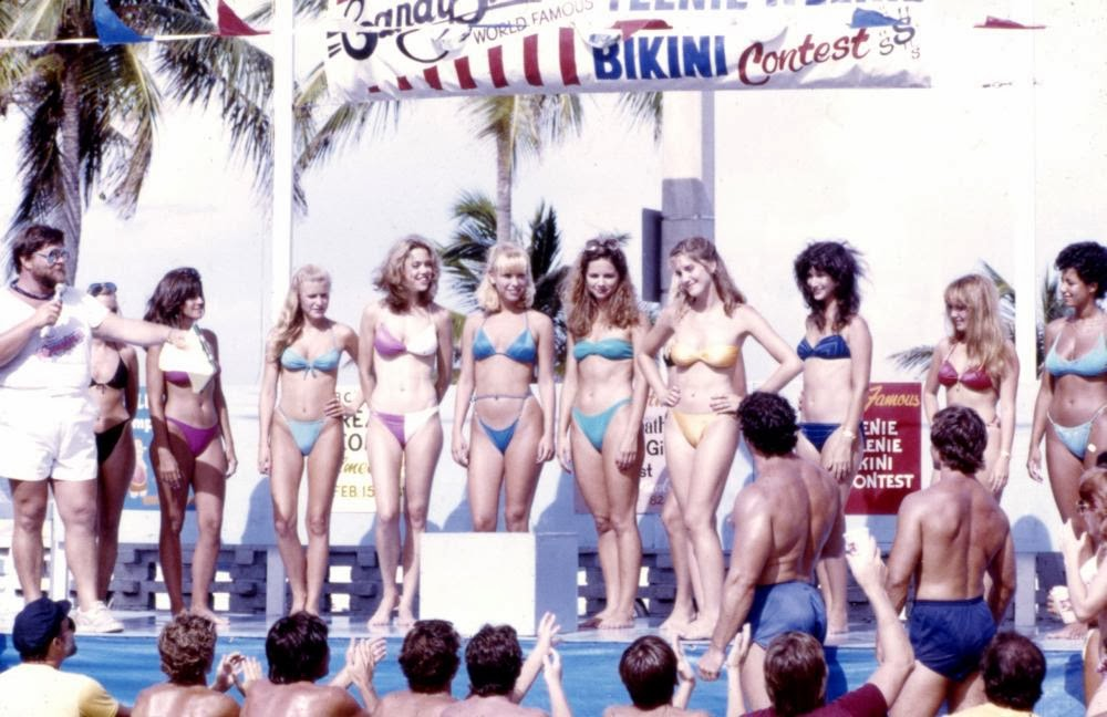 Spring Break bikini contest