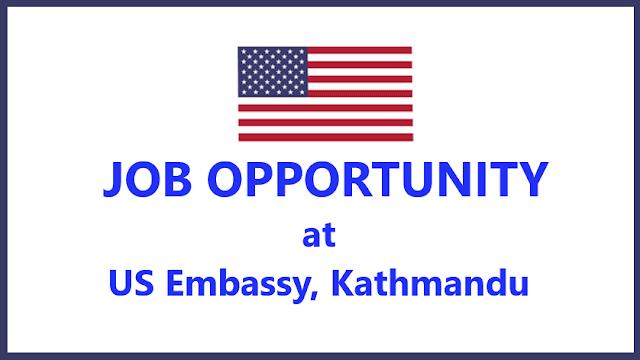 U.S. Embassy Job Vacancy for Visa Assistant; Salary: Rs. 74000