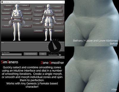 Zone Smoother for Genesis 3 Female