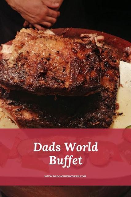 Dads World Buffet review