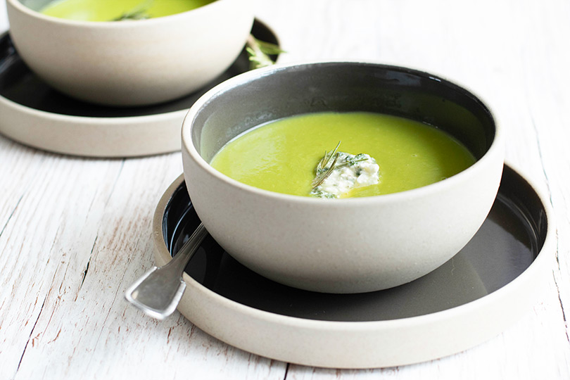 recette Soupe de pois
