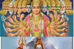 Kisah Pertempuran Dewa Siwa (Mahadewa) vs Wisnu (Krisna) Dalam kepercayaan Hindu