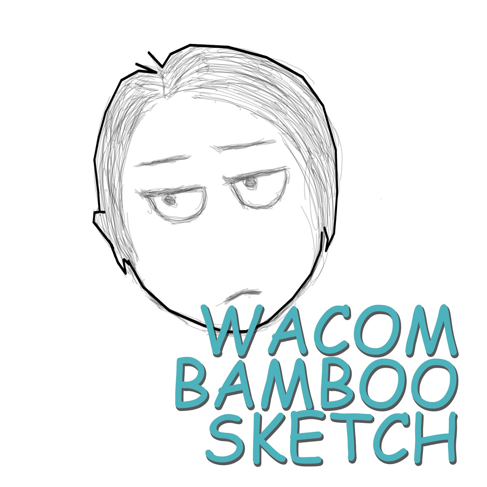TESTING WACOM BAMBOO