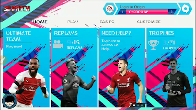 FIFA 19 Android Mod Shopee Liga 1 Indonesia Season 2019/2020