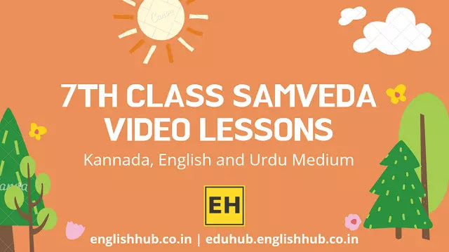 7th Class Samveda YouTube Video Lessons 2021-22