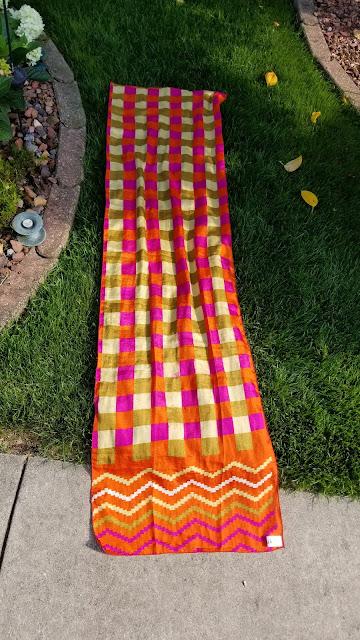 Handmade Sari Scarf