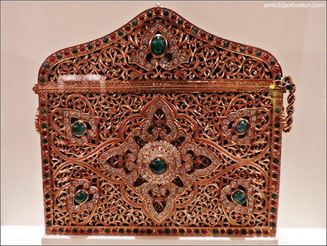Bolso de Oro Regalo del Rey de Marruecos