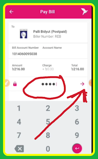 How to paid bitdut bill in home