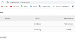 Parsing Data XML dari Database MYQL dengan PHP, HTML dan CSS