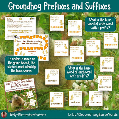 https://www.teacherspayteachers.com/Product/Groundhog-Day-Prefixes-and-Suffixes-465184?utm_source=groundhog%20day%20blog%20post&utm_campaign=groundhog%20suffixes