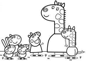 Dibujos De Peppa Pig Para Colorear Imagenes Y Dibujos Para