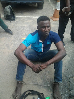Wanted Gang Leader Arrested After His Charm Failed During Police Raid. Photo