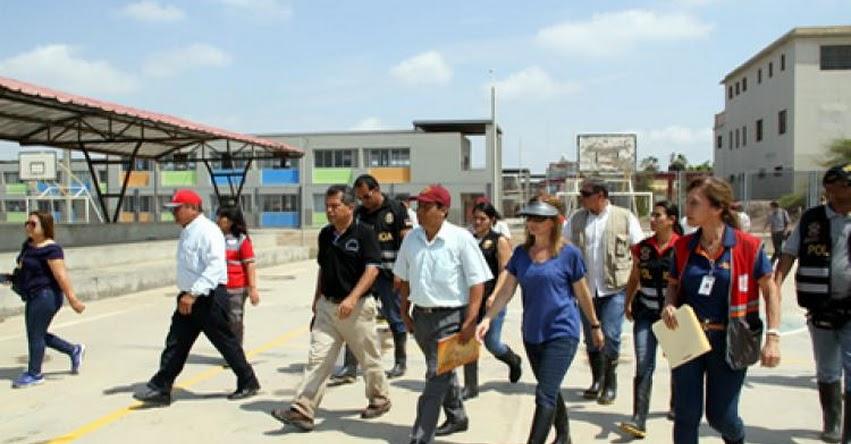MINEDU: Ministra Martens coordina rehabilitación de colegios afectados por inundaciones en el norte del país - www.minedu.gob.pe