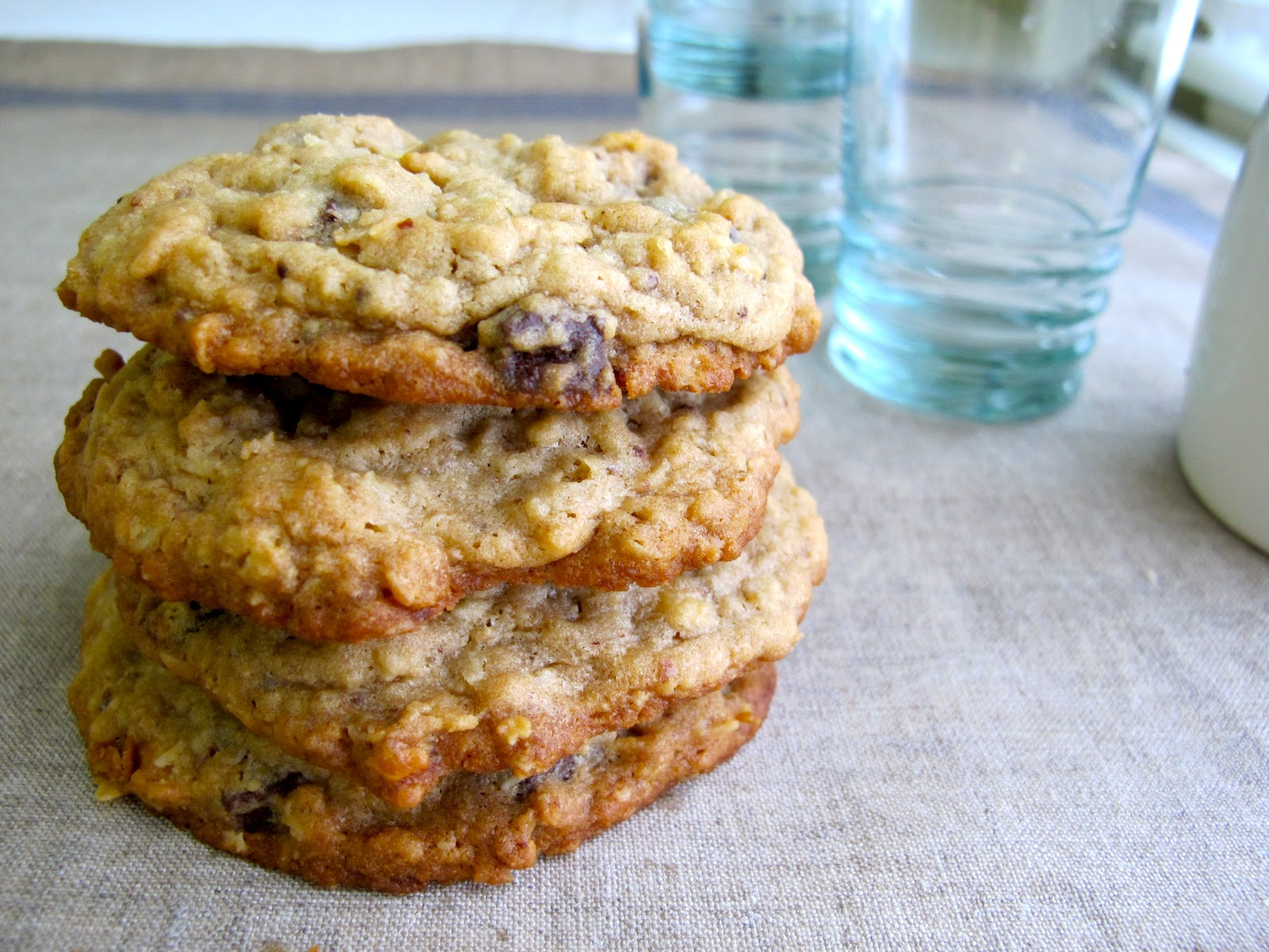 America Test Kitchen Oatmeal Chocolate Chip Cookies