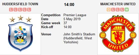 huddersfield vs manchester united live