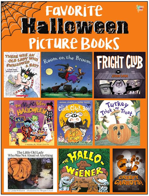 Halloween Books & Activities!
