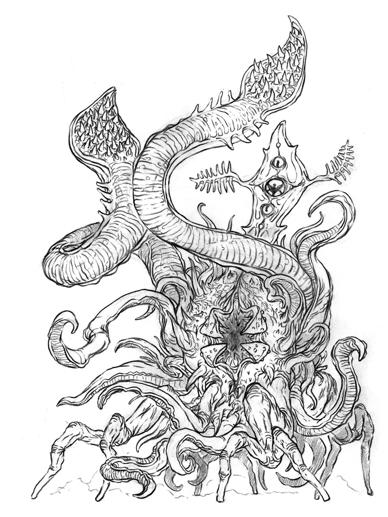 The Doodles Designs And Art Of Christopher Burdett A