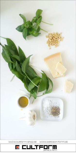 Zutaten. Bärlauch als Pesto - Wunderwaffe für (fast) jedes Rezept