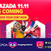 Lazada 11.11 is Coming!