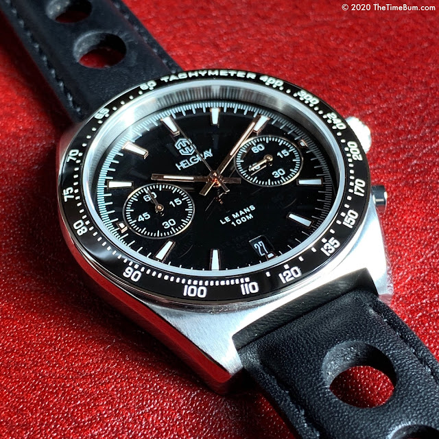 Helgray LeMans Classic Silver Chronograph