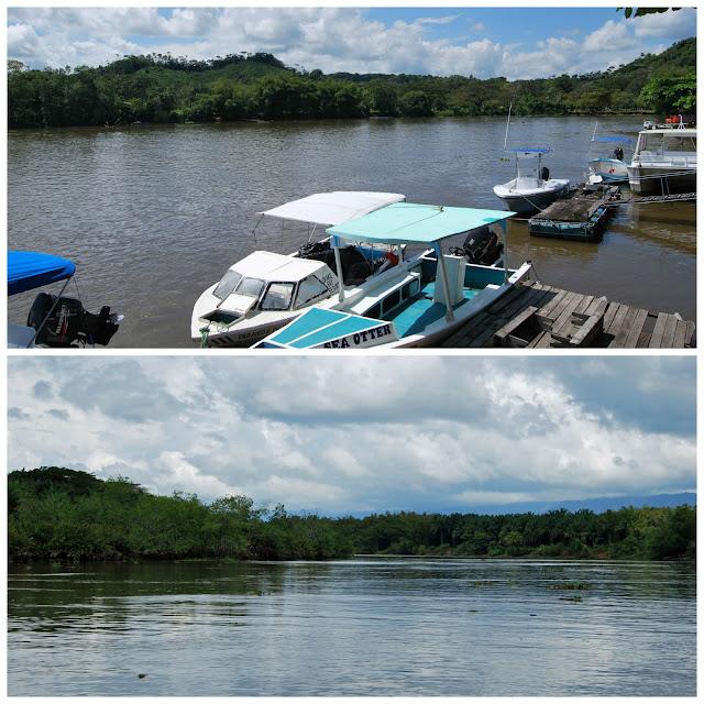 Camino a Drake desde Sierpe, Costa Rica
