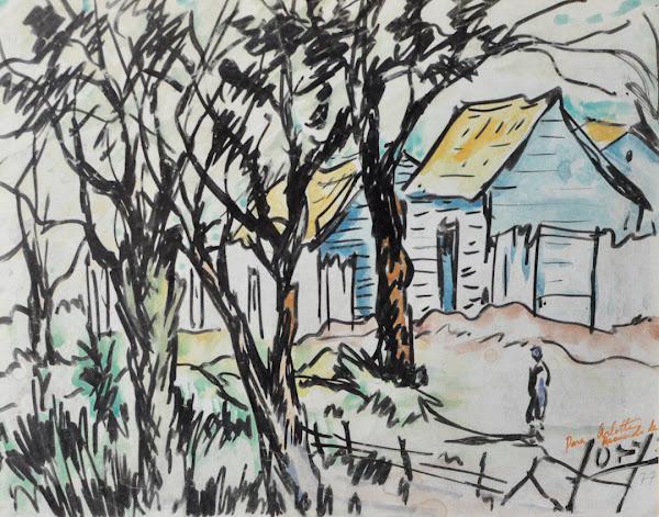 Dibujo Paisaje 1977