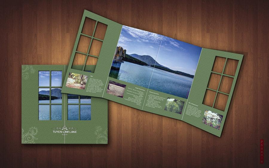 In nhanh Brochure đẹp tại xưởng Hà Nội, thiết kế Brochure độc đáo chuyên nghiệp TUYEN LAM LAKE